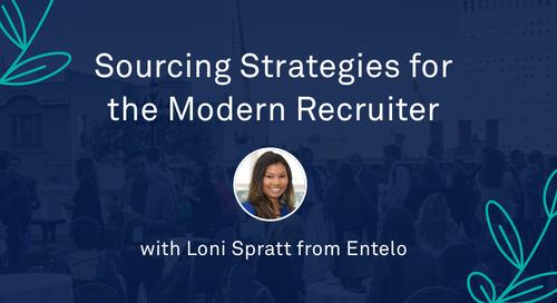 "Loni Spratt - ""Sourcing Strategies for the Modern Recruiter"""