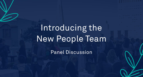 """Panel - """"Introducing the New People Team"""""""