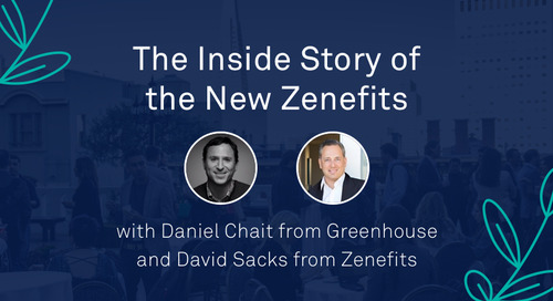 """Keynote - """"The Inside Story of the New Zenefits"""""""