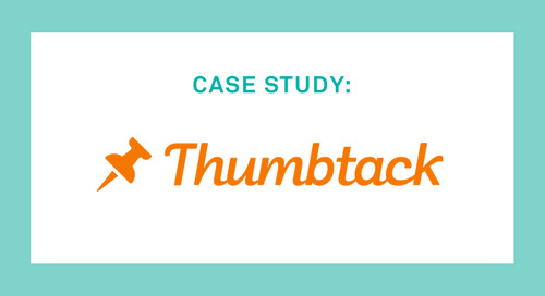 Improving Productivity & Performance Through Analytics at Thumbtack