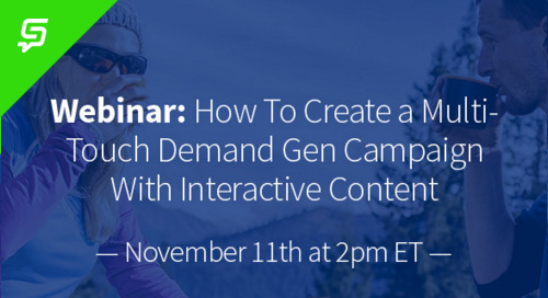 How To Create a Multi-Touch Demand Gen Campaign With Interactive Content