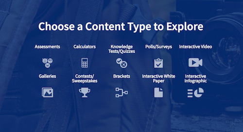 Your Guide to Interactive Content Types