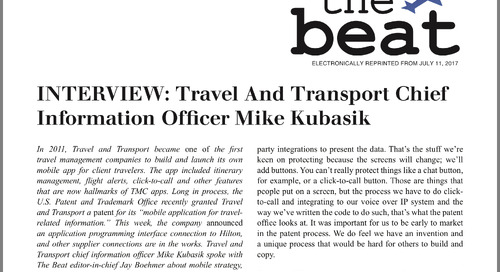 The Beat: Interview with Travel and Transport CIO Mike Kubasik