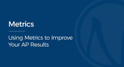 Using Metrics to Improve Your AP Results