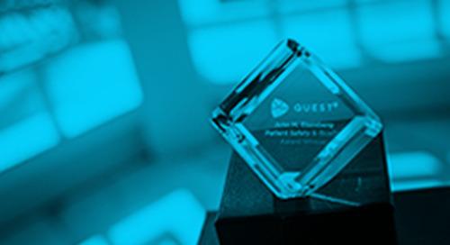 Premier Inc.'s QUEST® National Quality Improvement Initiative Wins National Award