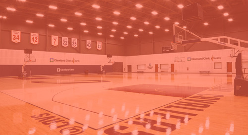 Cleveland Cavaliers Score Extra Practice Time with GE LEDs