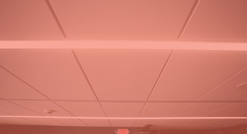 USG & GE Redefine Ceiling Lighting Design