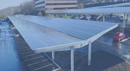 Solar Parking Garage Generates 2.3MW Clean Energy