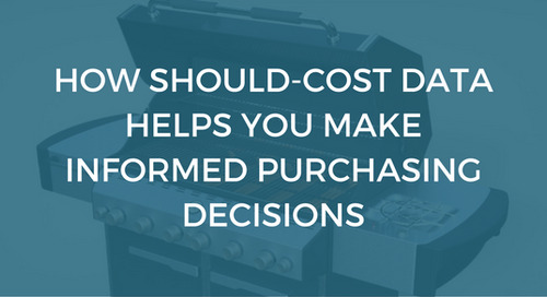 How Should-Cost Data Helps You Make Informed Purchasing Decisions