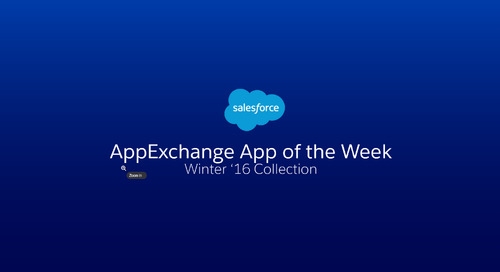 Winter '16 App of the Week