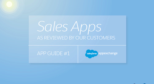 Sales Apps As Reviewed by Our Customers