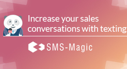 Messaging is the New Conversation for Sales by SMS-Magic