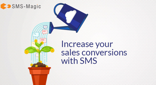 5 killer ways in which Sales can use SMS texting for conversion by SMS-Magic