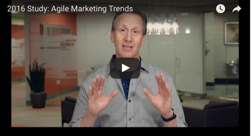 Video Blog: 3 Things You Must Know From Our Agile Marketing Survey