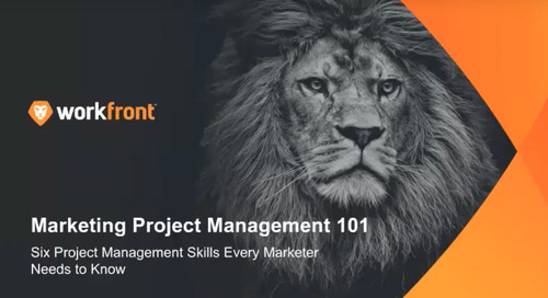 Marketing Project Management 101