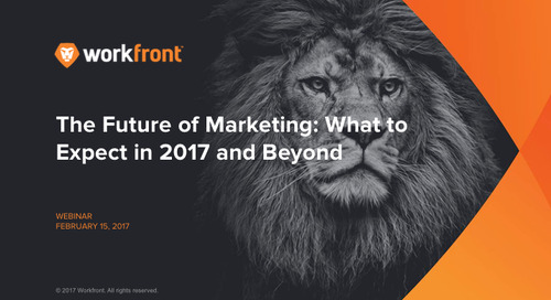 The Future of Marketing 2017: Part Two