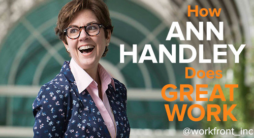 Off-Mic with Masterful Marketers: How Ann Handley Does Great Work