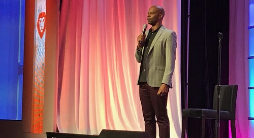 """Michael Junior at LEAP 2017: """"Live with Purpose and Find Your Why"""""""