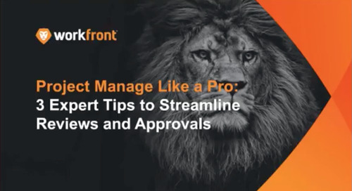 Project Manage Like a Pro: 3 Expert Tips to Streamline Reviews and Approvals