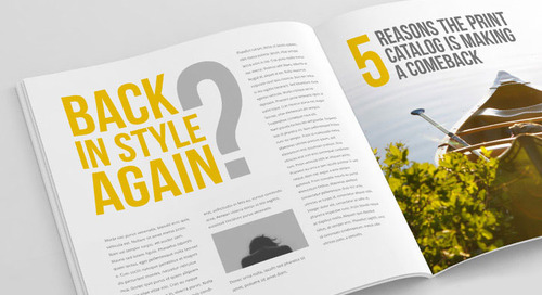 Back In Style Again? 5 Reasons the Print Catalog Is Making A Comeback