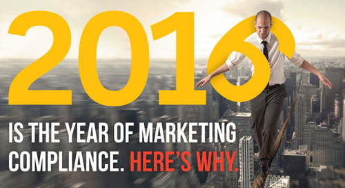 2016 Is the Year of Marketing Compliance (eBook)