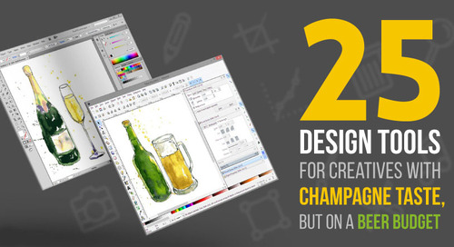 25 Design Tools for Creatives with Champagne Taste, But On a Beer Budget