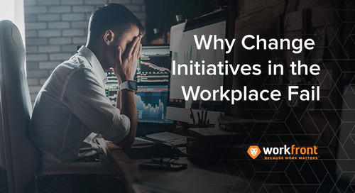 Why Change Initiatives in The Workplace Fail