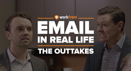 "Like our Video ""Email in Real Life?"" You'll Love These Outtakes"