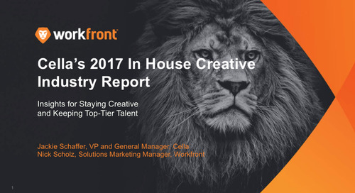 Cella's Industry Report — Insights for Staying Creative & Keeping Top-Tier Talent: Part 1