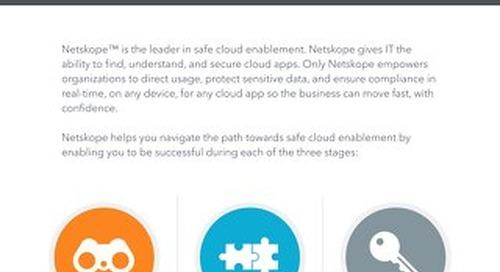 Netskope- Cloud with Confidence