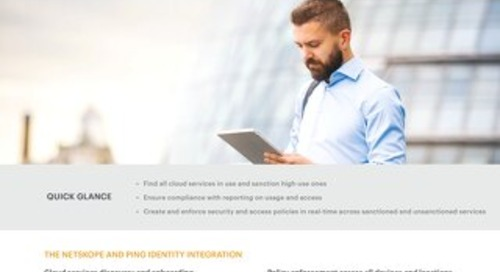 Netskope + Ping Identity