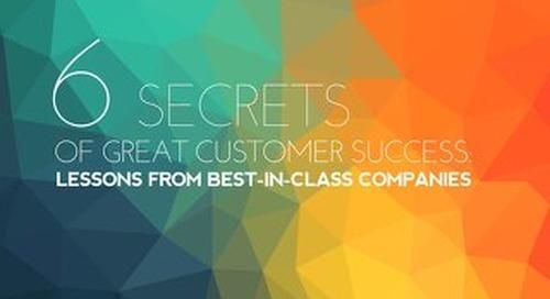 6 Secrets of Great Customer Success