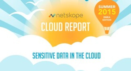 Summer 2015 - EMEA Cloud Report