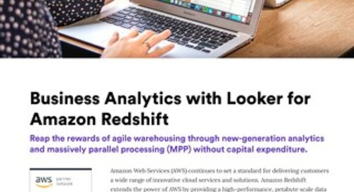 Data Analytics on AWS Redshift