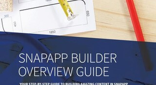 SnapApp Builder Overview Guide