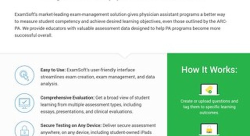ExamSoft_PA_OnePager