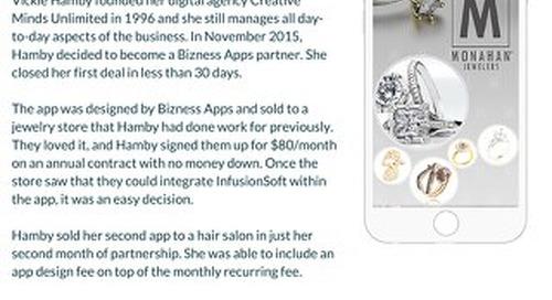 Bizness Apps Success Story- CMU