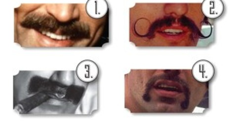 Movember Name that Mustache Activity