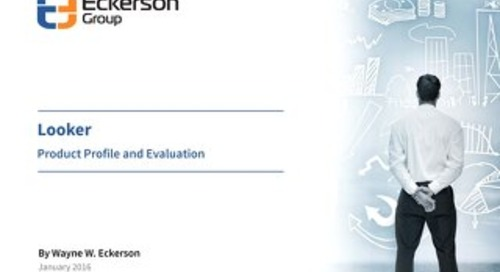 Eckerson Group Profile of Looker
