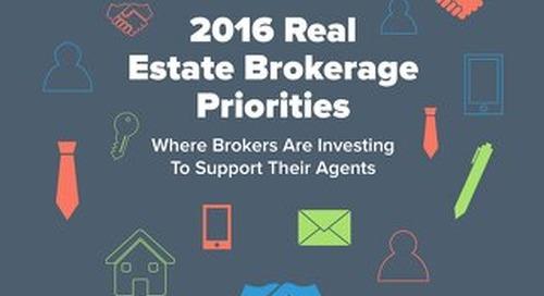 2016 Real Estate Brokerage Priorities