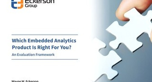 Which Embedded Analytics Product Is Right For You? - Eckerson Group