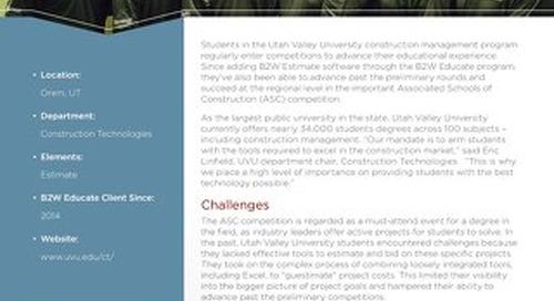 Utah Valley University Case Study