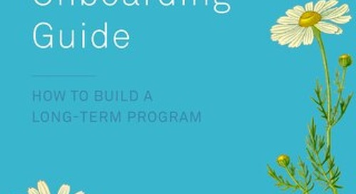 New Hire Onboarding Guide: How to Build A Long-Term Program