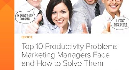 Top 10 Productivity Problems Marketing Teams Face and How to Solve Them