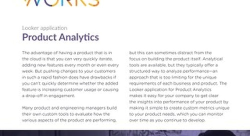 Looker for Product Analytics