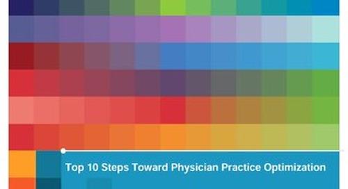 Ten Steps Toward Physician Practice Optimization