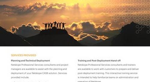 Netskope Professional Services