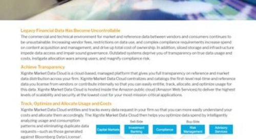 Xignite Market Data Cloud