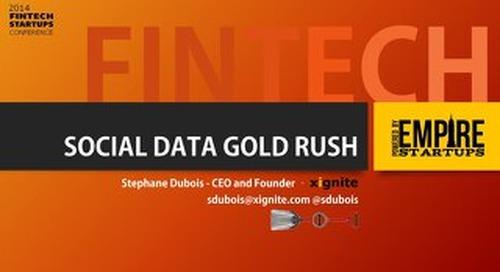 Fintech Social Data Gold Rush