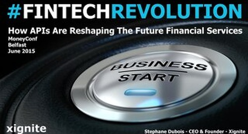 How APIs Are Reshaping The Future Financial Services